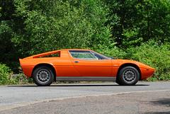 Maserati Merak (michaelward_autoitalia) Tags: auto blue red horse orange cars italian italia dino ferrari bull lamborghini maserati gt4 prancing trident merak mwp urraco autoitalia michaelwardphotos wwwfacebookcompagesautoitaliamagazine233490606722049