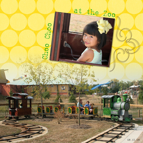082208 Mia Choo  Choo at the zoo