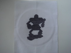 Demon Knight (benjibot) Tags: crossstitch crafts videogames nes dragonwarrior