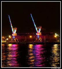 Grues et reflets (photons_93) Tags: rouen grues armada2008