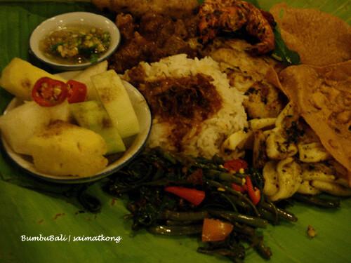 Nasi Campur Bumbubali (Famous)
