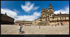Catedral de Santiago de Compostela 3 (Santcer) Tags: plaza santiago españa o catedral galicia santiagodecompostela compostela canon5d peregrino obradoiro solete ereselmejor tepasaste santcer carizzitas i´vejustmetaboynamesantiano andhe´swonderful