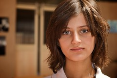 Gulan Kamaran (www.hebervega.com) Tags: portrait girl eyes iraq center kurds sulaimaniyah