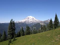 Rainier from below Shriner Peak.