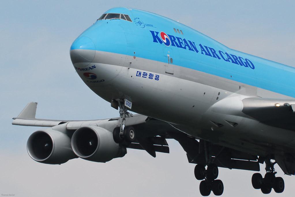 Korean Air Lines (Korean Air Cargo) Boeing 747-4B5F (ER) HL7600 (23071)