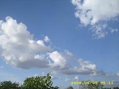 sky (intro2natura) Tags: blue white clouds dusk shades eveningsky milky seasky naturesart skyart