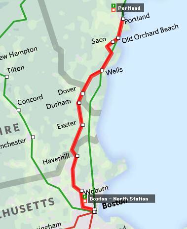 Amtrak Maine Map.Goodspeed Update Maine S Unlikely Train
