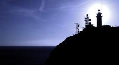 Faro en el arrecife de las sirenas (cabo de Gata) (Jess Navarro Lzaro) Tags: parque de cabo natural salinas gata arrecife sirenas parquenatural