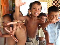 Happy Garden Center Andoung (basmati - authentic help) Tags: poverty kids phnompenh slum basmati happygarden andoung