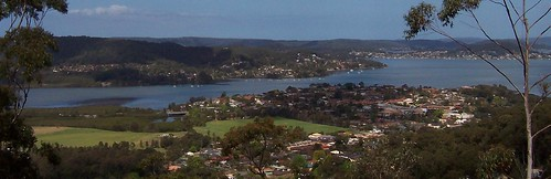 Green Point from Yaruga Look-Out Rumbalara Reserve Gosford