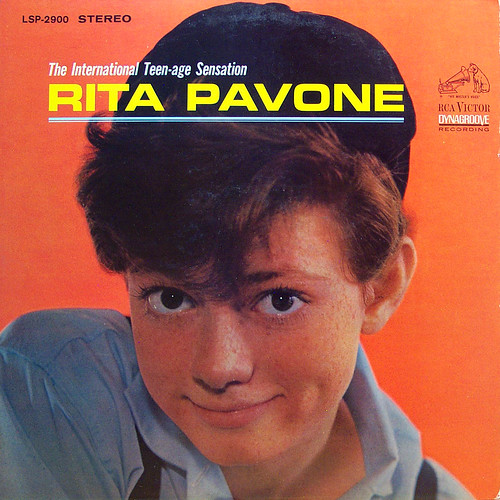 Freckled Teen Sensation. International Teen-age Sensation Pavone, Rita