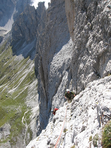 071 Dolomites Steger route Catinaccio