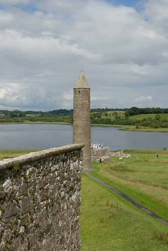 228-20070714NX_Co. Fermanagh-Lower Lough Erne-Devenish Island-St Mary's Priory-View from Tower