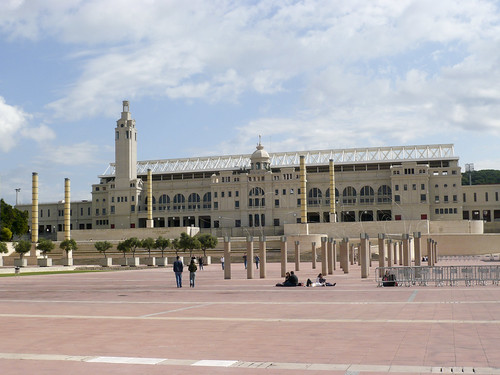 Olympic Stadium en Montjuic