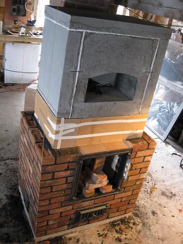 door flange installed
