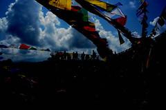 wind horse & Namo Buddha (phurpu tsering) Tags: phew