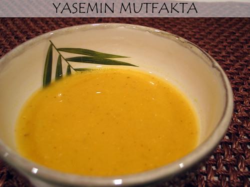 Portakallı Mercimek Corbasi by Yasemin Mutfakta
