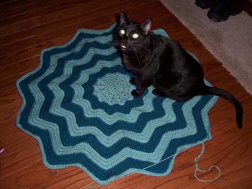 Gabbi's Blanket w/ Frisco