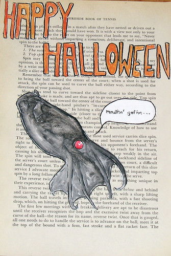 Happy Halloween from Mr. Vampire Squid