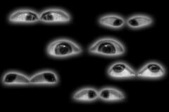 "Day 298/365 ""Haunted Eyes"" (Hunter Wilson) Tags: portrait blackandwhite bw fall halloween self d50 eyes nikon october nolan wilson hunter 365 2008 wellstone 365days hunterwilson"
