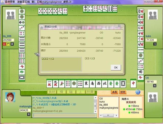 hk mahjong game multiplayer online four players 13 orphans by mahjongbeginner
