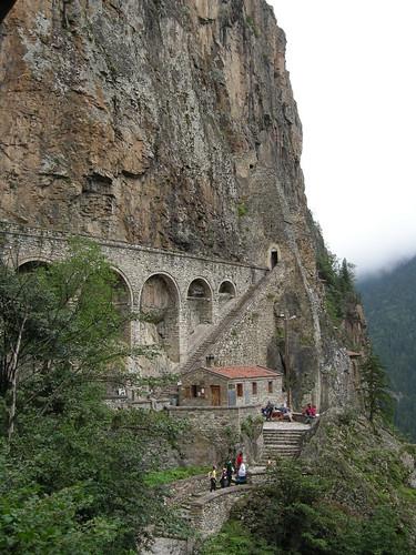 Sümela Monastery - Entrance and Aquaduct
