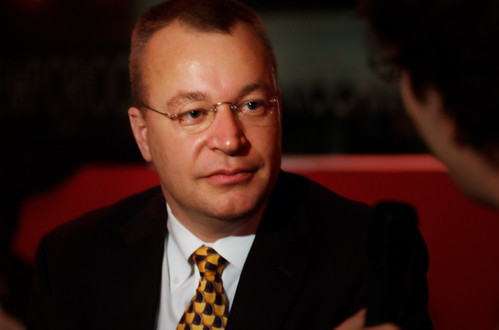 Stephen elop meets the bloggers by luca.sartoni.