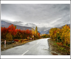 (Alizadeh100) Tags: trip autumn trees light red sky white mountain mountains color tree green art fall nature yellow clouds canon landscape photography photo day gathering cloudysky neyshabur bujan cloudinthesky colortrees upcoming:event=1246733 colorandautumn skyandautumn