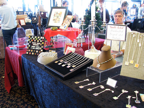 Craft Show Table at Casa Larga