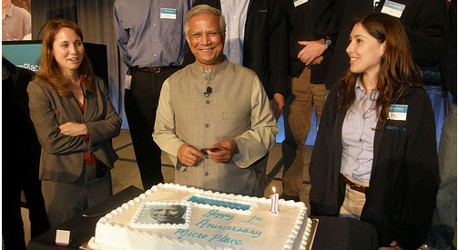 Professor Yunus of MicroPlace