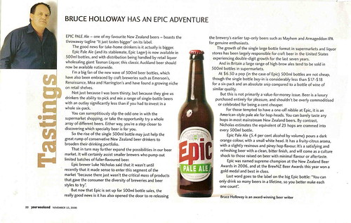 Bruce Holloway has an Epic adventure
