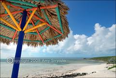 Beach Umbrella at Little Stirrup Cay (amycicconi) Tags: travel cruise vacation beach umbrella photo straw cruising cruiseship tropical caribbean d200 traveling bahamas royalcaribbean deserted rccl vacationing privateisland beachumbrella uncrowded cococay cruisevacation cruiseline nikond200 cruisetravel littlestirrupcay amystrycula strycula astrycula