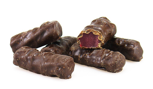 Dark Chocolate Covered Red Licorice