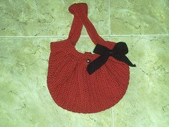 Fat Bottom Bag (Lucretia's Shop) Tags: bolsa croche fatbag