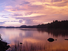 Summer storm has passed (Trond Strmme) Tags: sunset sky norway clouds summerstorm mywinners perfectsunsetssunrisesandskys natureandnothingelse holjrelen