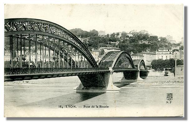 384 - Lyon-Pont de la Boucle