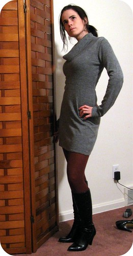 Sweater Dress 2