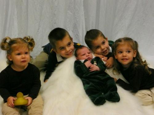 Five little Burnses :)