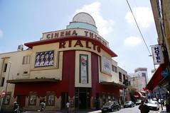 Rialto Art Deco cinema, Casablanca (nickgoesglobal) Tags: art colonial morocco artdeco casablanca deco 2008 rialto moroccan 08 mauresque moroccanartdeco moroccandeco casablancan
