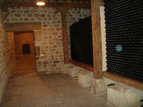 Zona de almacenaje de vino