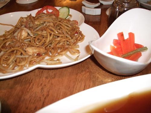 purple cane tea noodle