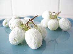 uvas glaceadas