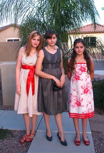 3 new dresses