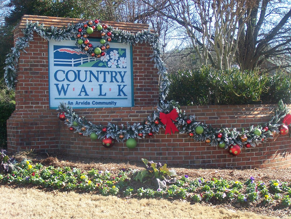 Country Walk Entrance