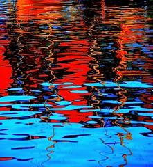 Reflections (cienne45) Tags: friends italy reflections colours liguria cienne45 carlonatale explore genoa natale soe oldharbour exploreexset explore1336