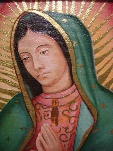 virgen de guadalupe pictures. Virgen de Guadalupe (oleo