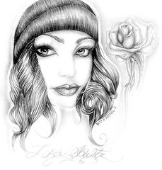 art girl gangster drawing Drawings Of Gangster Girl Clowns