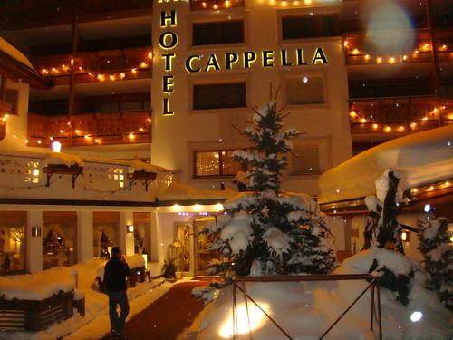 Vista exterior del Hotel Cappella