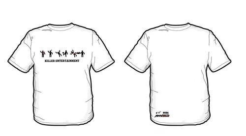 madworld t-shirt white
