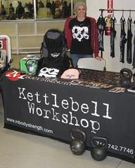 MBody Strength at OC Roller Girls Event (3/7/2009) (mbodystrength) Tags: kettlebells ocrg ocrollergirls mbodystrength